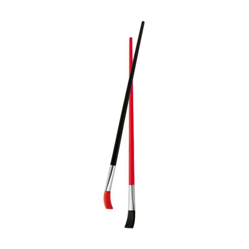 Оригинальные трубочки для коктейлей и напитков Подарок художнику 2 шт. 19,5 см. красно-черные BST 115513
