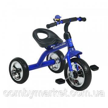 Дитячий триколісний велосипед Lorelli A28 синій