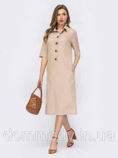 Сукня жіноча із розрізами з боків