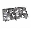 Диффузор радиатора охлаждения (M11/M12/ в сборе с вентилятором) Chery M11 / Чери М11 M11-1308010