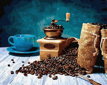 Картины по номерам 40х50 см Brushme Магия кофе (GX 29455)