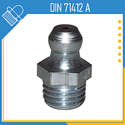 Пресс-масленки DIN 71412 A