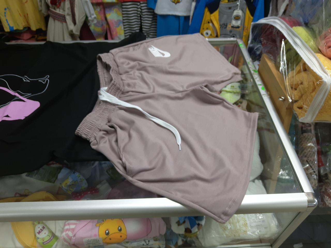 Жіночі шорти з кишенями 54 56