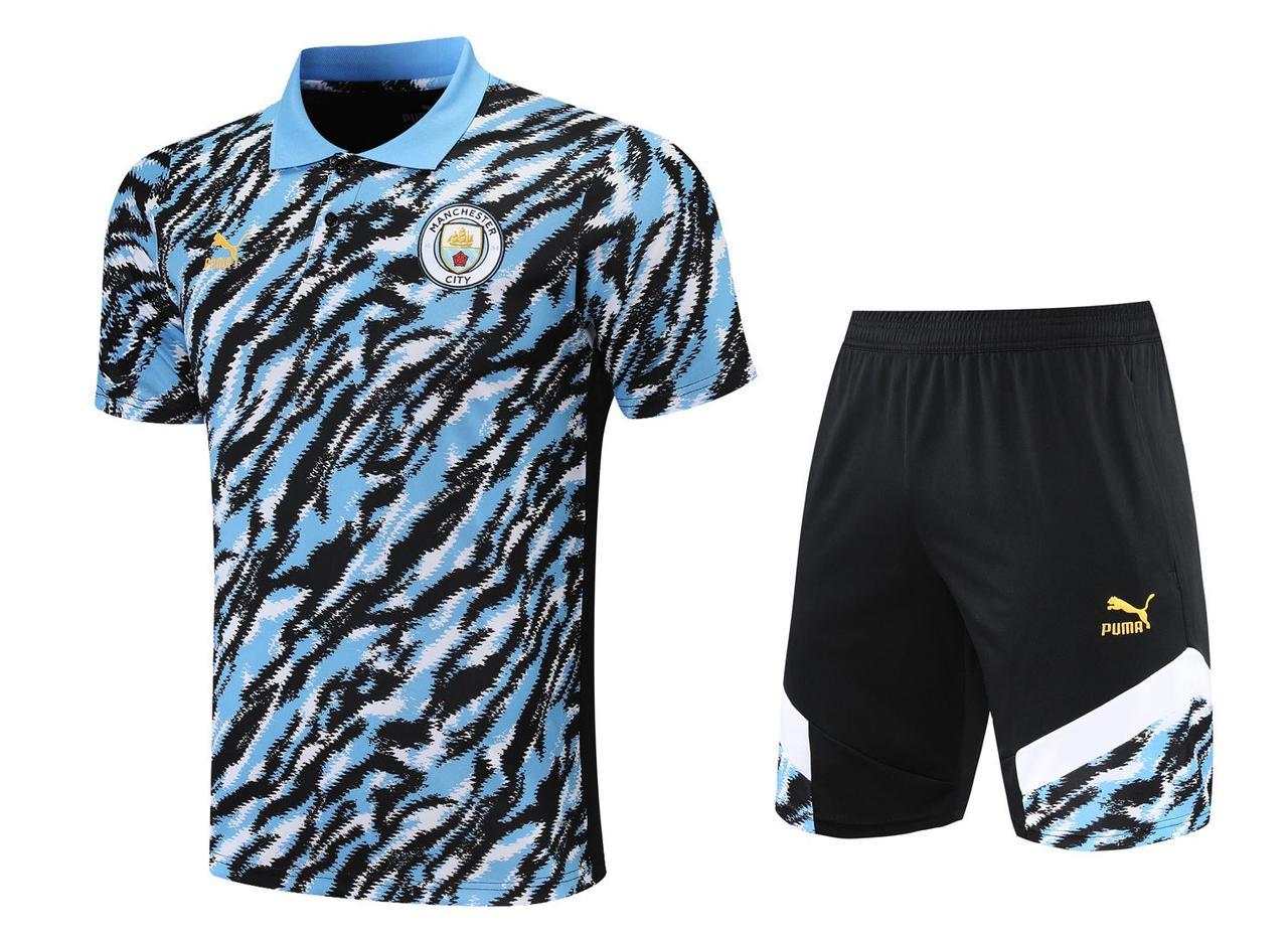 Летний тренировочный костюм Манчестер сити 2021-22