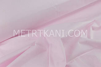 Клаптик. Однотонна польська бязь світло-рожева 95*160 см
