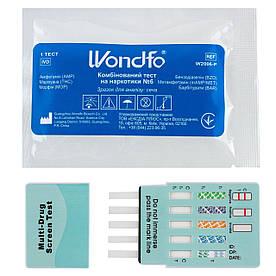 Тест для виявлення 6-ти видів наркотиків Wondfo