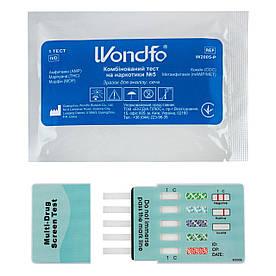 Тест для виявлення 5-ти видів наркотиків Wondfo