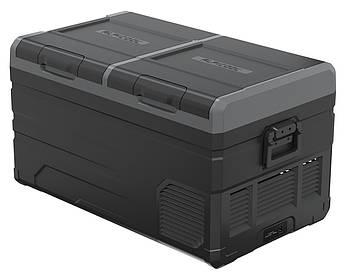 Компрессорный автохолодильник Alpicool TW75. Двухкамерный. Охлаждение до -20 ℃. Питание – 12, 24, 220 вольт.