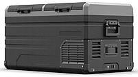 Компрессорный автохолодильник Alpicool TW75. Двухкамерный. Охлаждение до -20 ℃. Питание – 12, 24, 220 вольт., фото 4