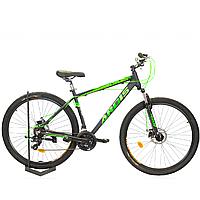Горный спортивный велосипед ARDIS SWEED 29 дюймов ЧЕРНЫЙ ЗЕЛЕНЫЙ ВЕЛОСИПЕД спортивный горный алюминиевый 29