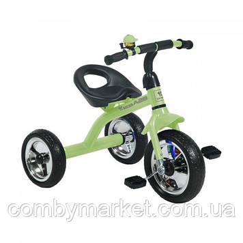 Детский трехколесный велосипед Lorelli A28 зелёный
