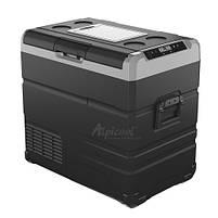 Компресорний автохолодильник Alpicool TW55. Двокамерний. Охолодження до -20℃, живлення 12, 24, 220 вольт., фото 3