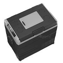 Компресорний автохолодильник Alpicool TW55. Двокамерний. Охолодження до -20℃, живлення 12, 24, 220 вольт., фото 2