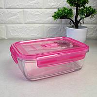 """Харчовий судок прямокутний з товстого скла Luminarc Pure Box"""" 23,5*17,5*7,5 см 1970 мл (P4591), фото 1"""