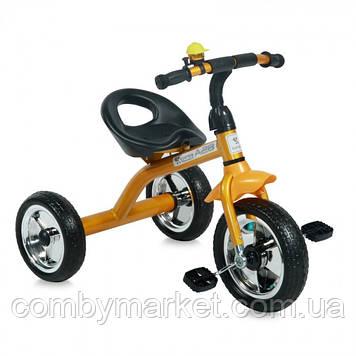 Дитячий триколісний велосипед Lorelli A28 golden