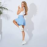 Розкльошені шорти жіночі короткі, фото 2