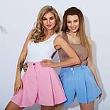 Розкльошені шорти жіночі короткі, фото 3