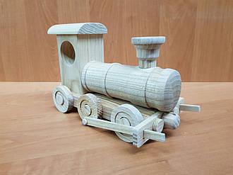 Эко-игрушка Паравозик деревянный