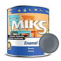 Эмаль темно-серая ПФ-115 Миks color 2,8 кг.