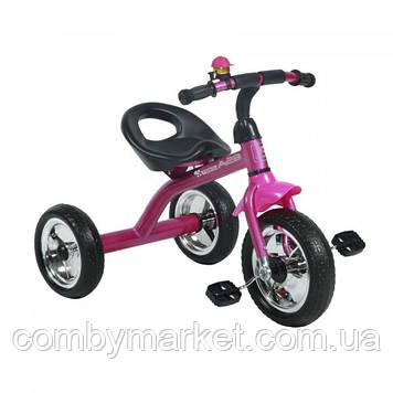 Дитячий триколісний велосипед Lorelli A28 рожевий