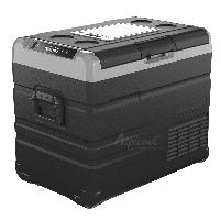 Компрессорный автохолодильник Alpicool TW45. Двухкамерный. Охлаждение до -20 ℃. Питание – 12, 24, 220 вольт., фото 2