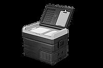 Компресорний автохолодильник Alpicool TW45. Двокамерний. Охолодження до -20℃, живлення 12, 24, 220 вольт., фото 5