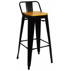Крісло металеве Bonro B-234BW чорне матове