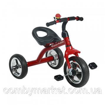 Детский трехколесный велосипед Lorelli A28 красный