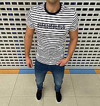 Мужская футболка Bikkembergs H1368 белая