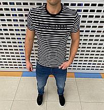 Мужская футболка Bikkembergs H1369 черная