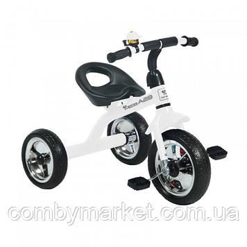 Дитячий триколісний велосипед Lorelli A28 білий