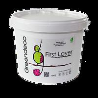 First Layer - высококачественная краска-грунт на основе акриловых смол в водной эмульсии. Greendeco