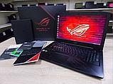 Ігровий Ноутбук Asus ROG Strix GL503VD + Core i7 на 12 ядер + ЯК НОВИЙ, фото 3