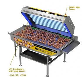 Оборудование для дезинфекции яиц UV-C disinfection