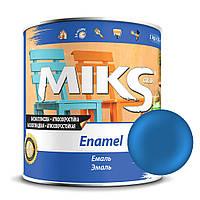 Эмаль ярко-голубой ПФ-115 Миks color 0,9 кг.