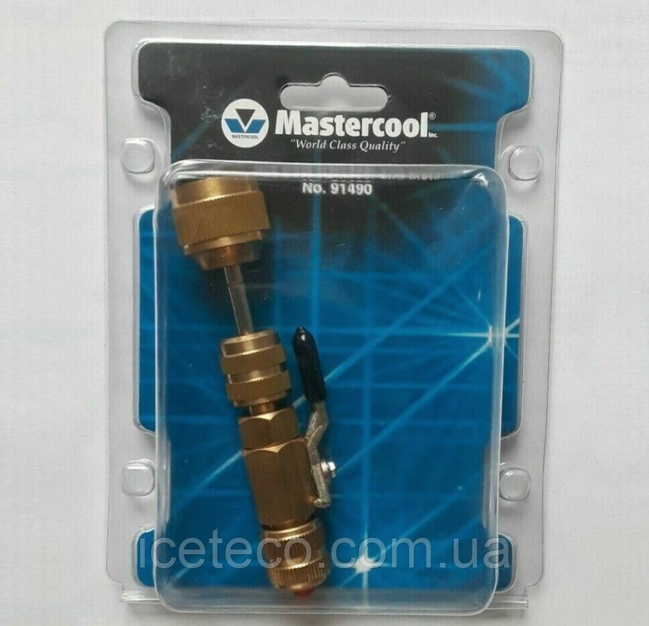 Вентиль (съемник) для замены ниппеля под давлением без стравливания фреона МС 91490 Mastercool