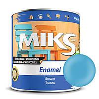 Эмаль голубая ПФ-115 Миks color 2,8 кг.