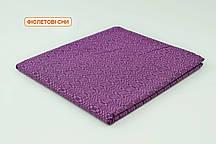 Двоспальнепростирадлона резинці - Фіолетові сни, низ