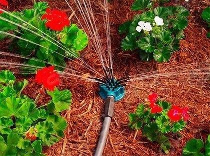 Розумна система поливу Garden Fresh 12 в 1 | Розпилювач на 360 градусів для саду і городу GARDEN FRESH