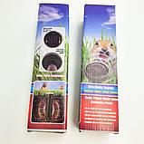 Відлякувач гризунів та комах акумуляторний на сонячній батареї ультразвукової та електромагнітний Garden, фото 8