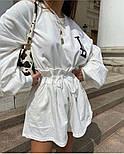 Женский костюм двойка летний двухнить (Норма), фото 2