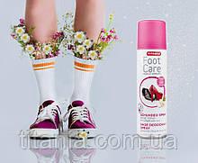 Лучший дезодорант аэрозоль для обуви 200мл TITANIA art.5330