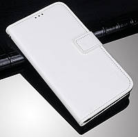 Чехол Fiji Leather для Blackview A80s книжка с визитницей белый