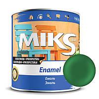 Эмаль ярко-зеленые ПФ-115 Миks color 0,9 кг.
