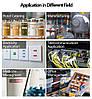 Лента для принтера этикеток Epson LabelWorks LK4BWV Vivid White/Black 12/8 (C53S654009), фото 5