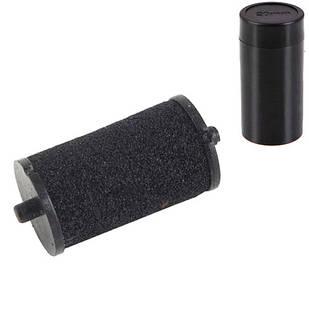 10x Ролик валик красящий чернильный 20мм для этикет-пистолета, картридж