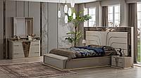Спальня бежевая в стиле лакшери , Риксос