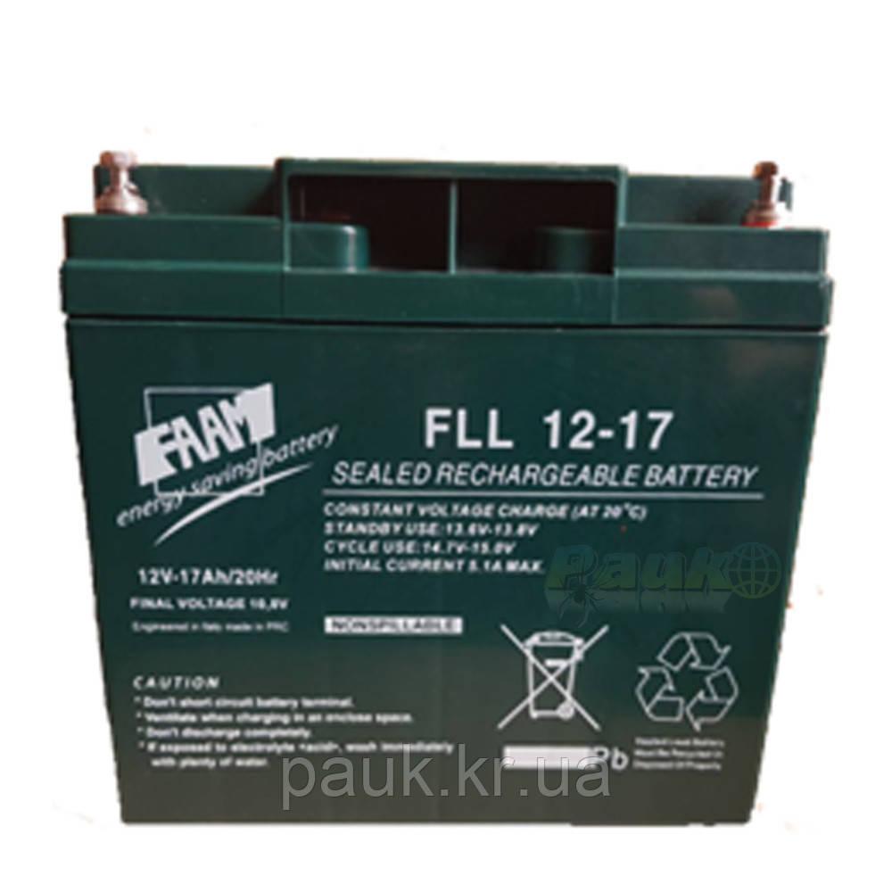 Акумуляторна батарея FAAM FLL 12-17, акумулятор стаціонарний