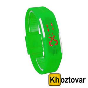 Наручные LED часы   Спортивные водонепроницаемые LED часы-браслет
