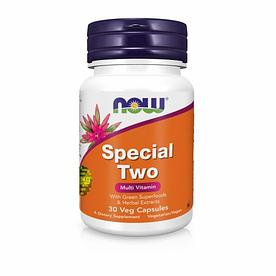 NOW Foods, Special Two, Multi Vitamin - Мультивитаминный комплекс, 30 капсул